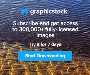 graphicstock - subscribe to get get access to fully-licensed images