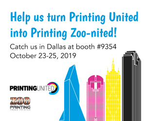 Help Us Turn Printing United Into Printing Zoo-nited!
