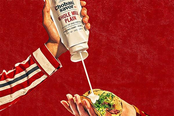 Chobani Tube Turns Yogurt Into a Condiment