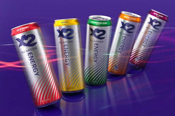 Chase Captures Natural Flow For X2 Energy Drink