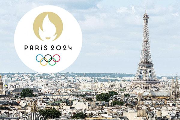 Paris Presents 2024 Olympics Logo