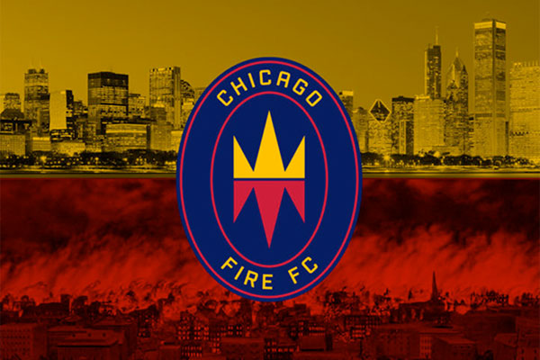 New Chicago Fire Logo Ignited