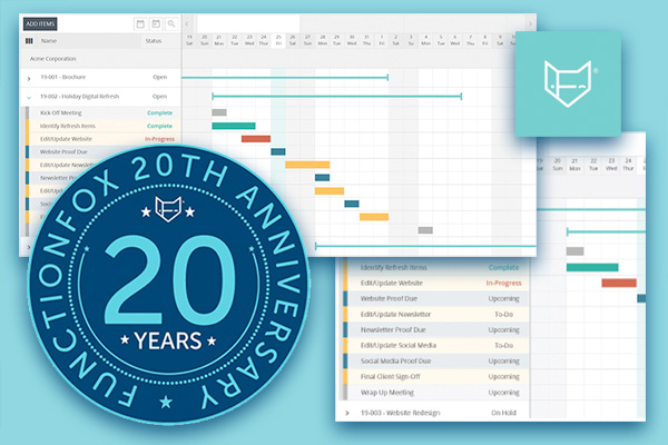 FunctionFox Celebrates 20th Year With Free Demo