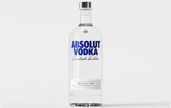 Absolut Updates Bottle Design