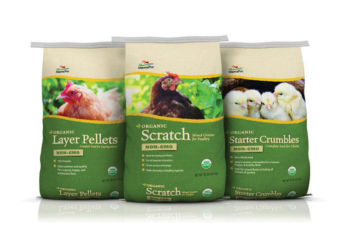 MannaPro® Organic Poultry Line