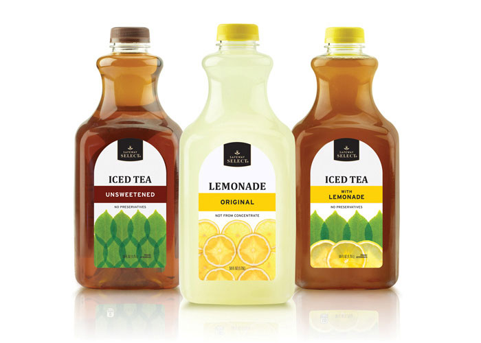 Safeway Select Ice Tea & Lemonade
