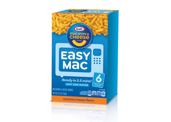 Kraft Easy Mac Redesign