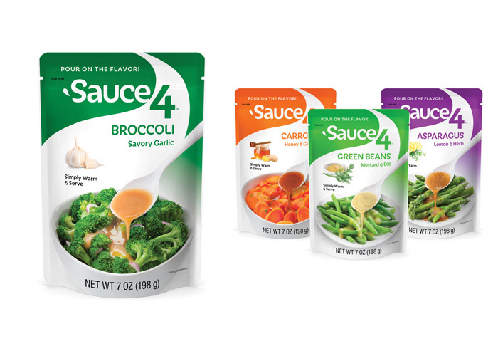 Sauce4 Branding and Package Design