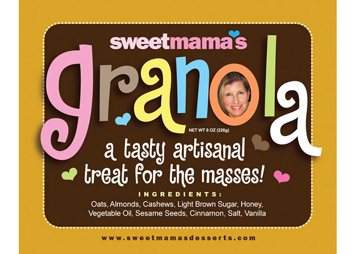 Sweetmama's Granola by YR2 Creative