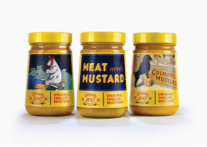 Colman's Limited - Edition Mustard Packaging