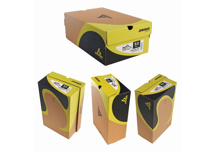 Brava Shoe Boxes Packaging