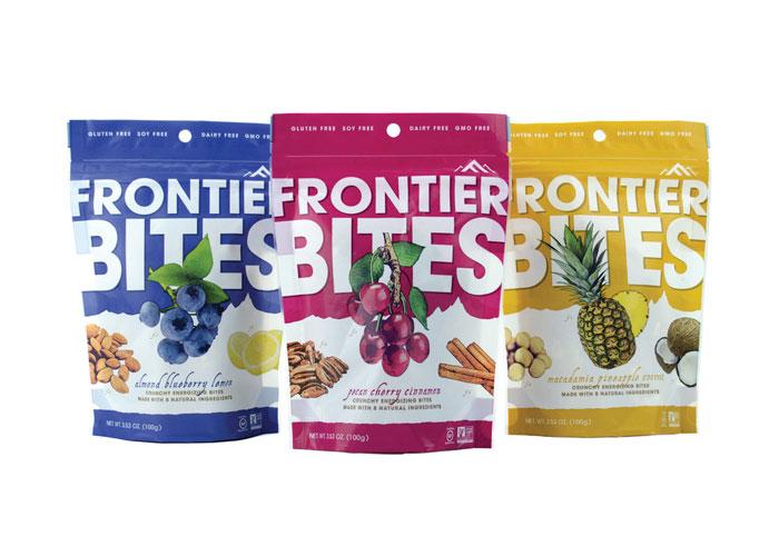 Frontier Bites Packaging Design