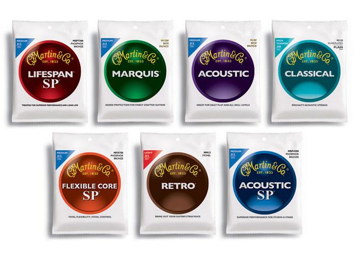 Martin Strings Packaging Rebrand