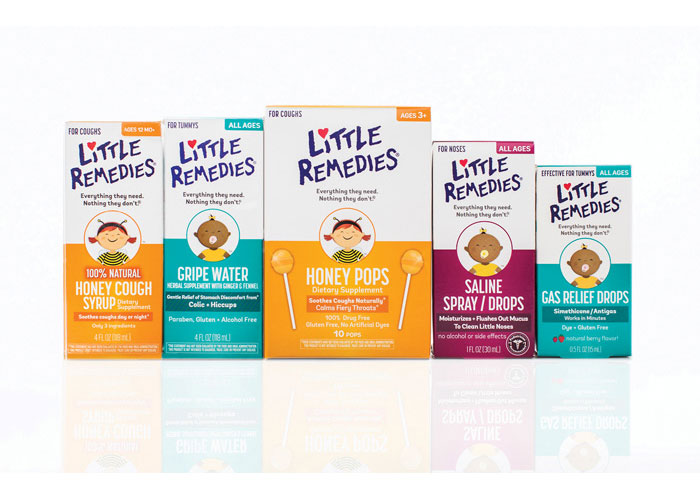 Little Remedies Packaging by CBX