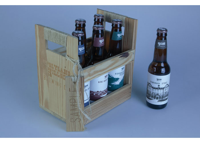 Holyland Hillside Brewing Co. Sample 6 Pack by UW-Stevens Point/Art and Design