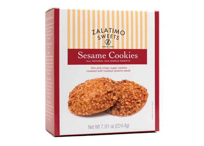 Sesame Cookies by Mark Oliver, Inc.