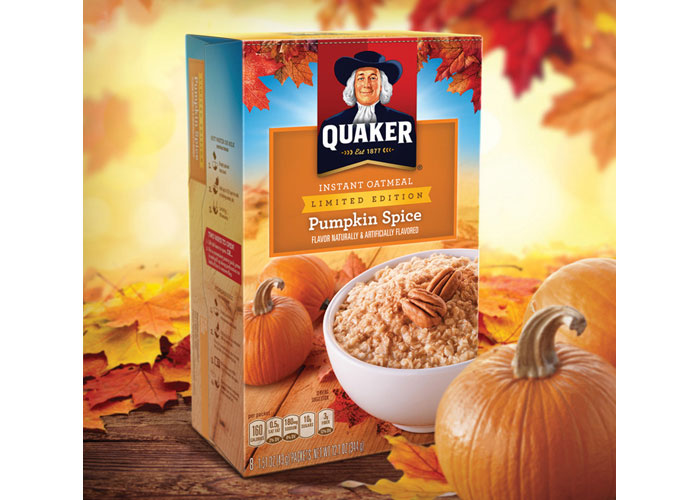 Quaker Instant Oatmeal Pumpkin Spice
