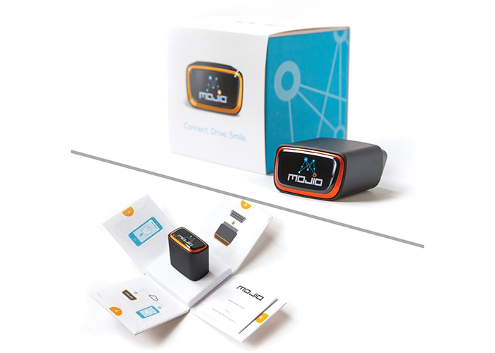 Mojio Device Packaging by Jansy Packaging