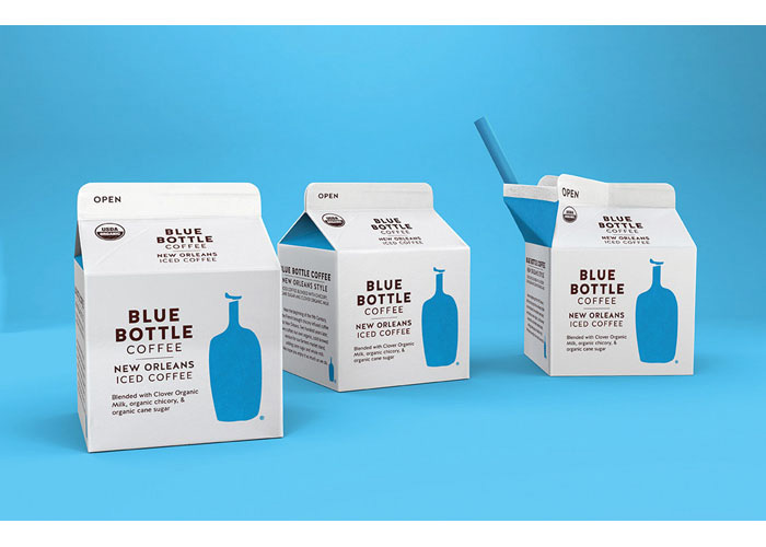 Blue Bottle New Orleans Iced Coffee Redesign  by Pearlfisher