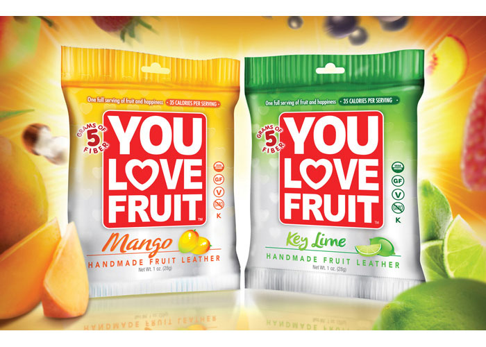 You Love Fruit Packaging by Dot Matrix Design Group