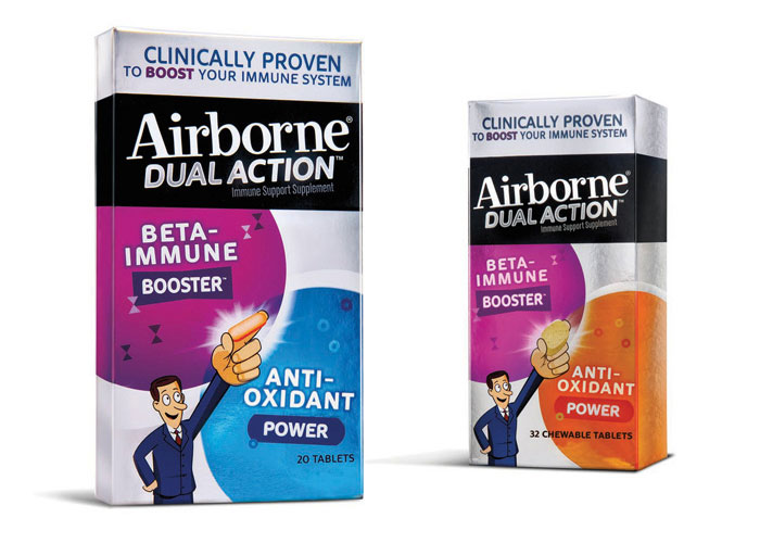 Airborne Dual Action Immune Support  by LAM Design