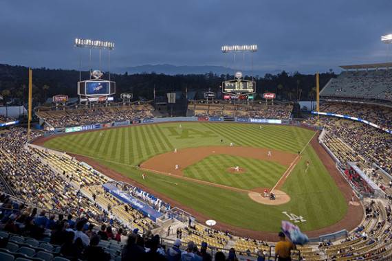 Dodger Stadium/ Photographed by Tom Bonner - Job ID: 5908