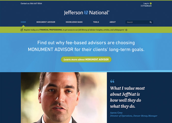 Jefferson National Website