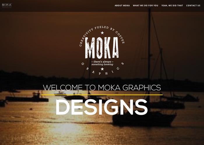 MOKA Graphics Website