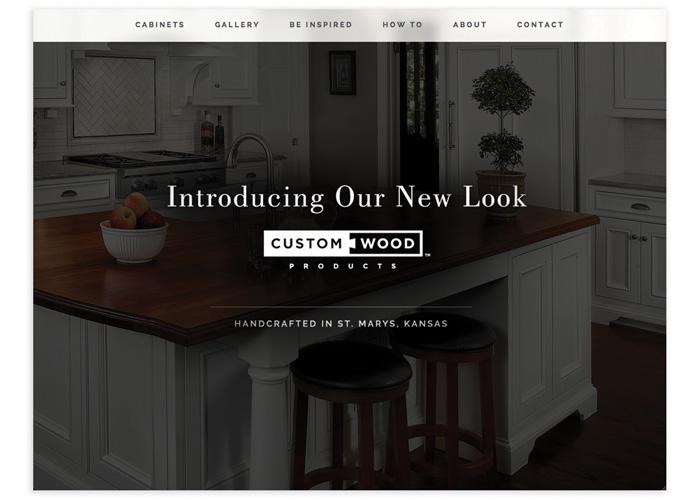 Custom Wood Products Website