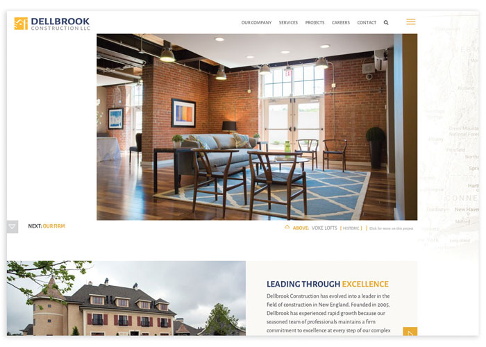 Dellbrook Construction Website