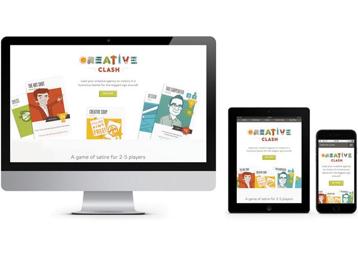 Creative Clash Website