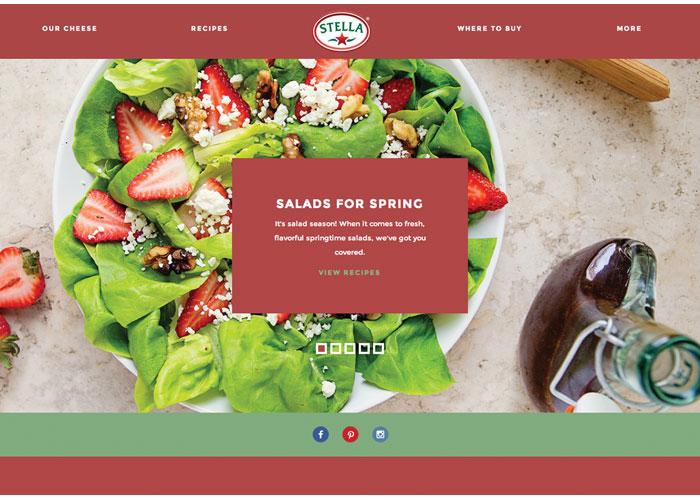 Stella Cheese Website