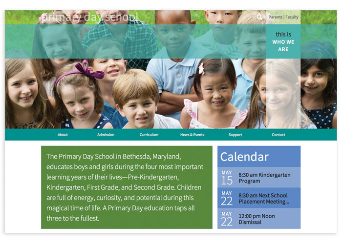 Primary Day School Website