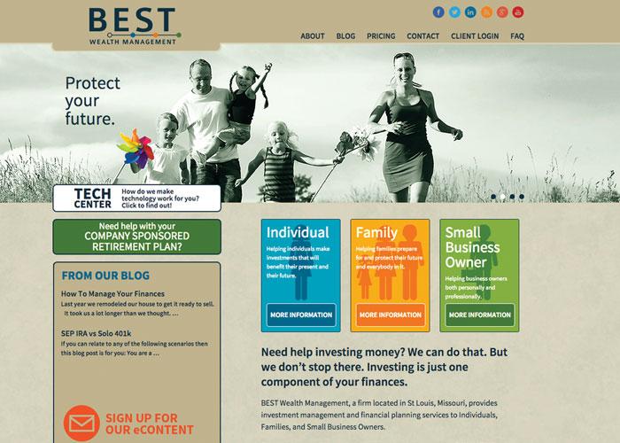 B.E.S.T. Wealth Management Website