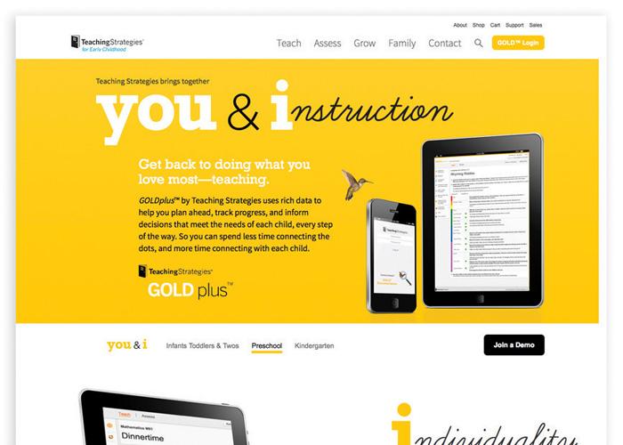 Teaching Strategies Website