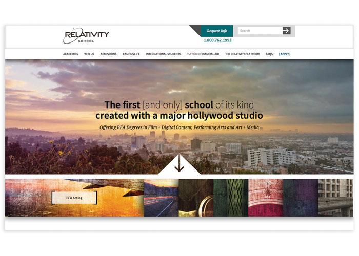 Relativity School Website
