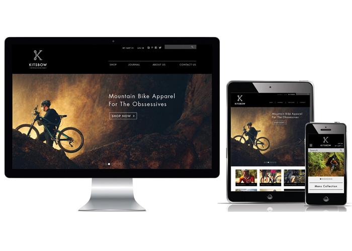 Kitsbow's E-Commerce Website
