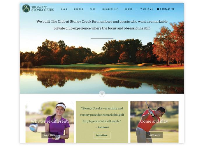 The Club at Stoney Creek Website