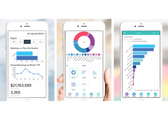 Salesforce Analytics Cloud Mobile