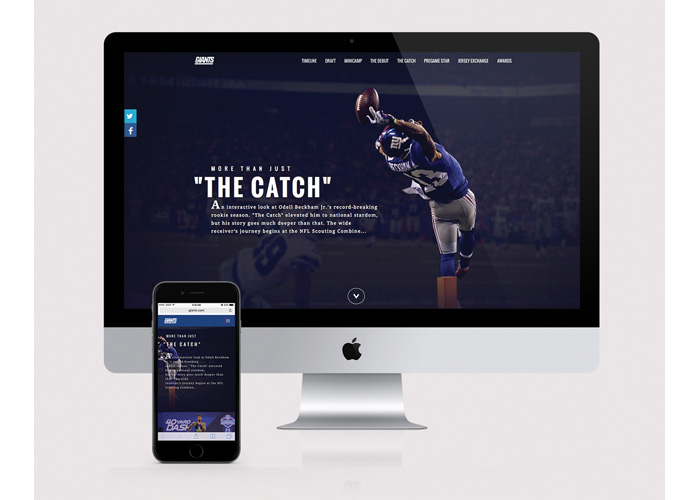 More Than Just A Catch - Odell Beckham Jr. Microsite