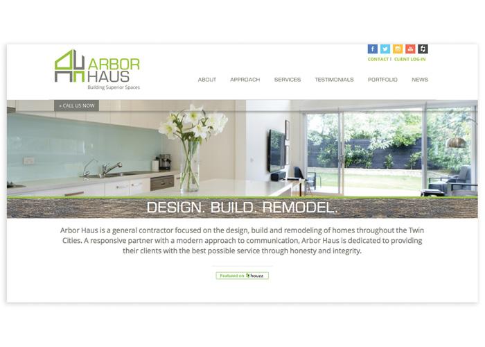 Arbor Haus Website
