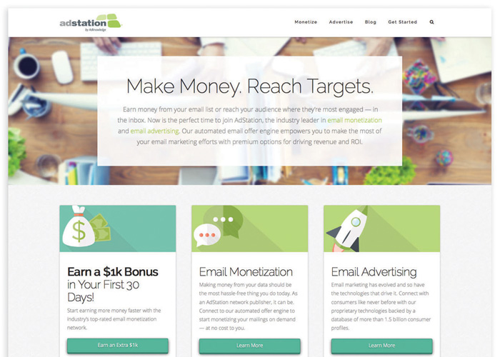 AdStation.com Email Monetization and Advertising