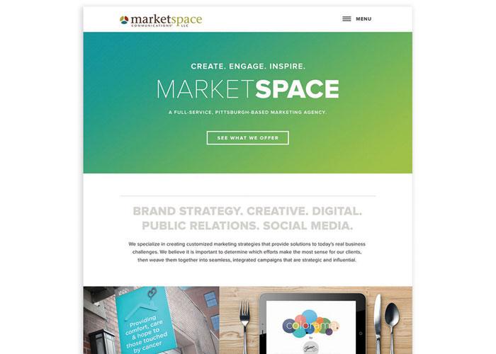 MarketSpace Communications Website