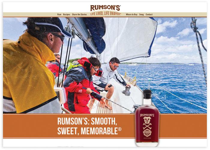 Rumson's Rum Website