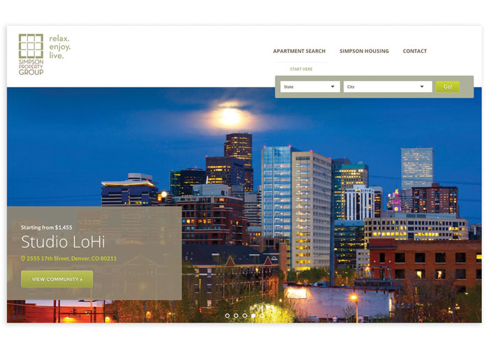 Corporate and Residential Apartment Website