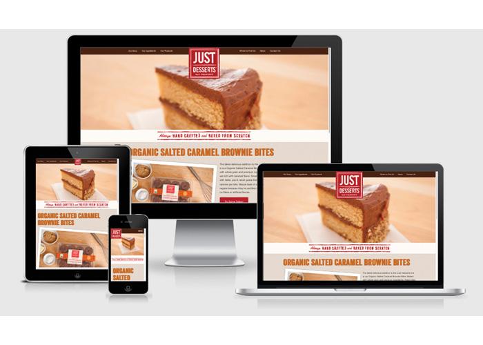 Just Desserts Website