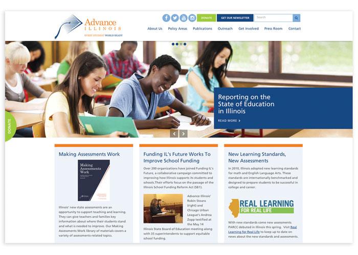 Advance Illinois Website