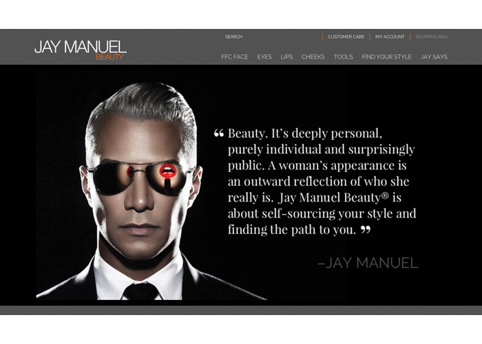 Jay Manuel Beauty Website