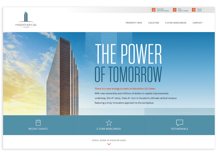 Marathon Oil Tower Website