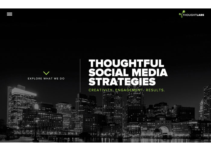 Thought Labs Website Design
